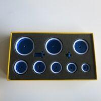 Watchmakers Tool Set of Watch Crystal Bezel Press Dies 28mm-60mm
