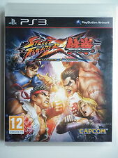 "Street Fighter X Tekken Jeu Vidéo ""PS3"" Playstation 3"