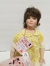 """Bell Doll Wigs #21 Precious  Lt. Brown 9-10"""" new in box"""