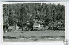 1961 RPPC Postcard Cabins at Mineral Lodge CA