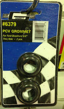 "NEW Mr Gasket 6379 PCV Grommet - Ford Breathers - 1"" OD x 3/4"" ID - 2 pce"