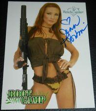 Jennifer Korbin Signed 2003 BenchWarmer Boot Camp Card #87 Playboy Autograph