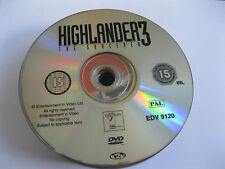 HIGHLANDER 3 - THE SORCERER starring Christopher Lambert  {DVD}