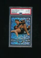 2013 Topps UFC Finest refractor #30 Ronda Rousey psa 10 rookie rc wwe champion