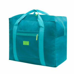 Portable Waterpoof Baggage Foldable Travel Luggage Storage Carry-On Durable Bag