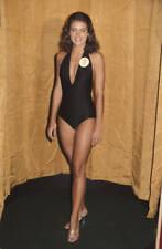 OLD PHOTO MISS WORLD BEAUTY CONTEST winner Cindy Breakspeare 1976 Jamaica 2