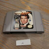 N64 GoldenEye 007 James Bond Nintendo 64 - Genuine Game Cartridge Only - Tested