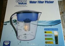 10 cup great value water filter pitcher, can use Brita filters