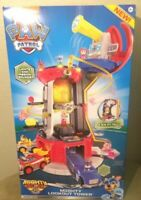 PAW Patrol Mighty Pups Super PAWs Lookout Tower Playset Lights Sounds Kids Toy