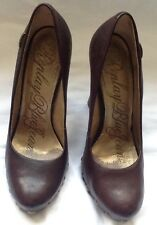 Replay Brown Leather Women's Shoes.Size 6UK /39EU