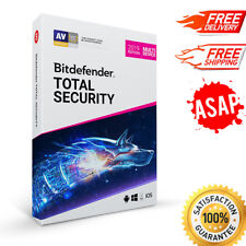 Bitdefender Total Security MultiDevice 2020, 5 PC- 1 year MAC, Windows & Android