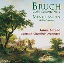 CD VIOLIN CONCERTO BRUCH 1 MENDELSSOHN LAREDO SCOTTISH