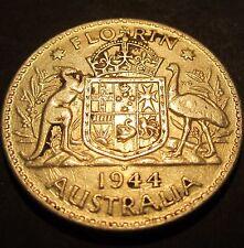 1944 S Australia 2/- Two Shillings One Florin #0002