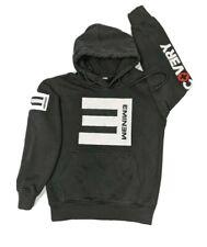 Eminem Sz Small 2012 Recovery Tour Concert Hoodie Black Sweatshirt Slim Shady