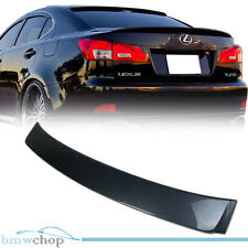 Painted For Lexus IS350 IS250 OE Rear Roof Spoiler 1G0 Gray