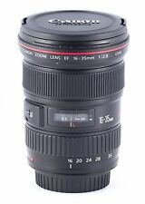 Canon EF 16-35mm f/2.8 L USM Lens with hood