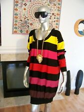 SOLD OUT Nwot SONIA RYKIEL For H&M Striped KNITTED Oversized SWEATER Dress S!!