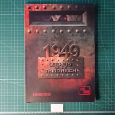 1949 Secrets of the Third Reich  Rulebook / Play Book, Grindhouse Games Westwind