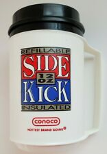 12 oz Conoco Side Kick Coffee Insulated ALADDIN Advertising Travel Mug Cup