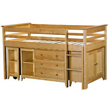 Children's MDF/Chipboard - Matt Effect Cabin Bed