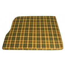 Westfalia 3/4 Over Engine Foam Cover for VW T2 late Bay Yellow Plaid C9420Y