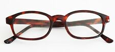Glass Lens Unisex Reading Glasses Tortoise Brown Full Frame +2.75 Lens Strength