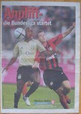 Anpfiff - die Bundesliga 2004/2005 startet - Verlagsbeilage Münchner Merkur