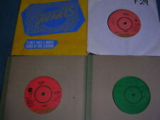 """TAVARES WHODUNNIT GHOST OF LOVE FREE RIDE IT ONLY TAKES MINUTE 4x 7"""" single EX"""
