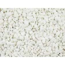 More details for decorative aggregates polar white marble chippings 10mm 25kg bag