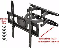 Full Motion Articulating Tv Wall Mount Swivel LCD LED 32 39 40 42 49 50 52 55""