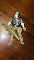 CHAP MEI ACTION FIGURE SOLDIER TOY FIGURE WITH GUN COLLECTABLE Green Beret GUN2