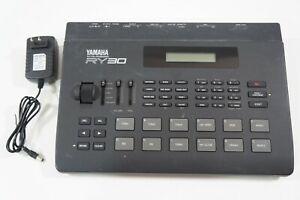 YAMAHA RY30 Rhythm Programmer Digital Drum Machine w/ Adapter