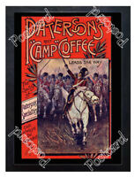 Historic Paterson's Camp Coffee, 1890s Advertising Postcard