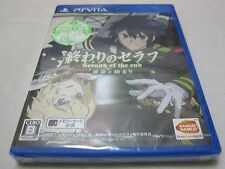 New W/Tracking Number. PS Vita OWARI NO SERAPH Seraph of the End Japanese Ver