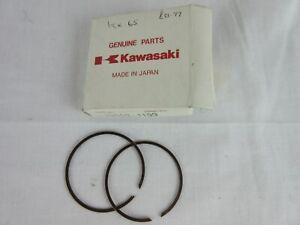 Kawasaki KX65 00-14 piston rings genuine 13008-1199