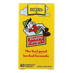 Natural Balance Happy Camper - 60 Vegetarian Capsules - USA Seller