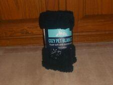 """New, Cozy Sherpa Pet Blanket, Blue, 30"""" X 40"""""""