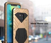 iMatch Metall Bumper Stoßfest Outdoor Schutzhülle Case f Huawei Mate 20 P20 Pro