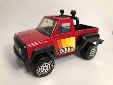 Tonka 1979 Red Pickup Truck w/ Lightbar Made of Pressed Steel & Plastic 812524A