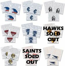 AFL Party Supplies Printed Team Napkin/Serviette 20pk 2ply - LIMITED TEAMS