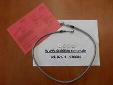 STAHLFLEX 90cm Einzelleitung mit TÜV Bremsleitung Bremse 90 cm brake hose line