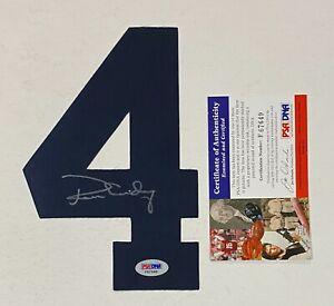 Ron Guidry Signed Jersey #4 Autograph AUTO PSA/DNA COA NY Yankees