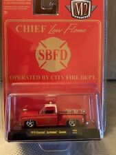 M2 Machines 1976 Chevy Silverado Scottsdale Fire Chief Limited Hobby Exclusive