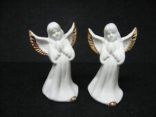 New pair praying Angel bells ceramic 3.75�