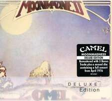CAMEL - MOONMADNESS: DELUXE EDITION 2CD ALBUM SET (2009)
