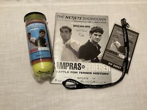 Tennis Sampras vs Federer the Netjets Showdown march 10, 2008 Souvenirs Vintage