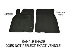 All Weather Floor Liner Velour Carmats Rubber Backing Fit Smart Fortwo 451 2007-