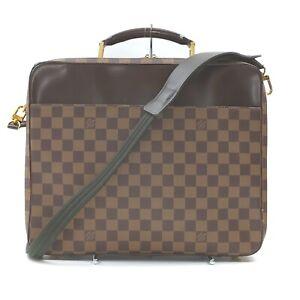 Louis Vuitton Business Bag N53355 Porte Ordinateur Sabana Browns Damier 1411736