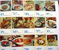 Set 15 Cuisine Fish Cookery Baltic Recipes Dishes Soviet Postcards Cards