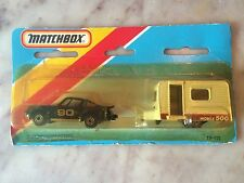 Matchbox 900 Porsche Travel Trailer Twin Pack Sweet! Doors Open!!